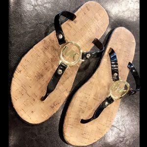 Michael Kors Flip Flops Size 8 Like New
